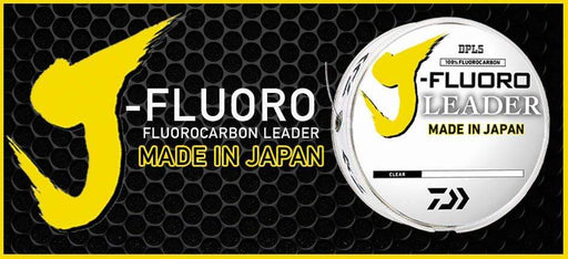 Daiwa J-Fluoro Fluorocarbon Leader Material