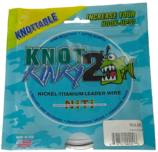 Knot 2 Kinky Leader Wire (25lb)