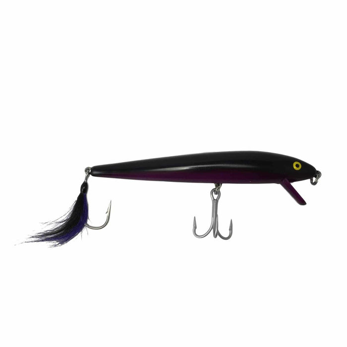 "Cotton Cordell Loaded 7"" Red Fin Swimmer Black"