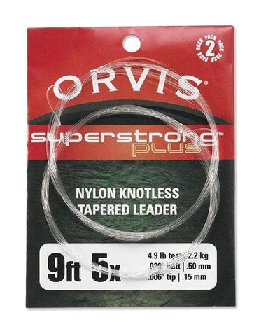 Orvis Super Strong Plus Leaders 2 Pack 9' 16 lb