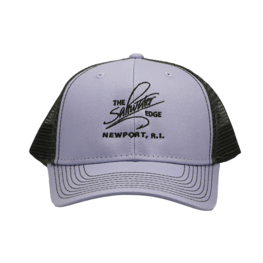 Saltwater Edge Logo Sideline Women's Trucker Hat