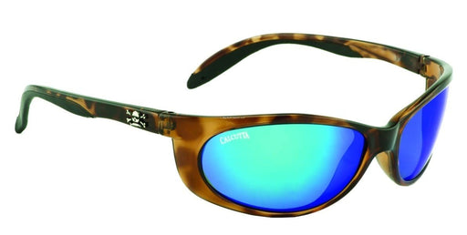 Calcutta Smoker Sunglasses (Tortoise Frame/Blue Mirror)
