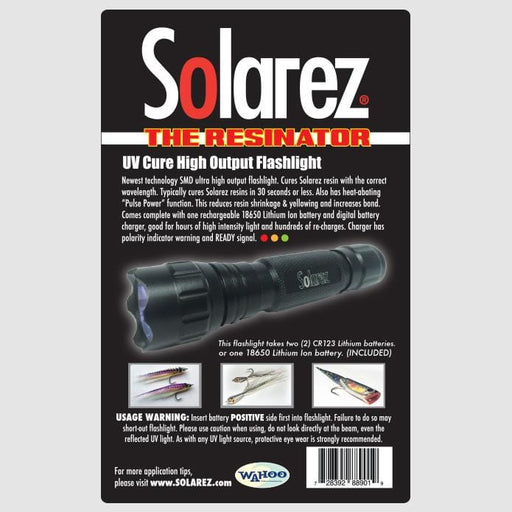 Solarez High Output UV Flashlight