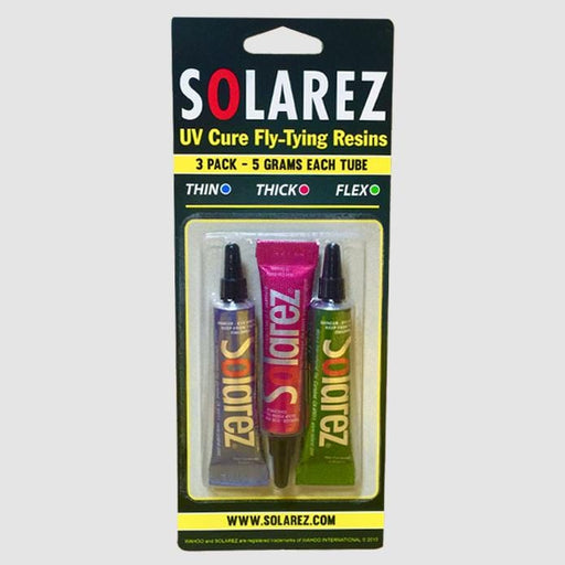 Solarez UV Cure Fly Tying Resin 3 Pack