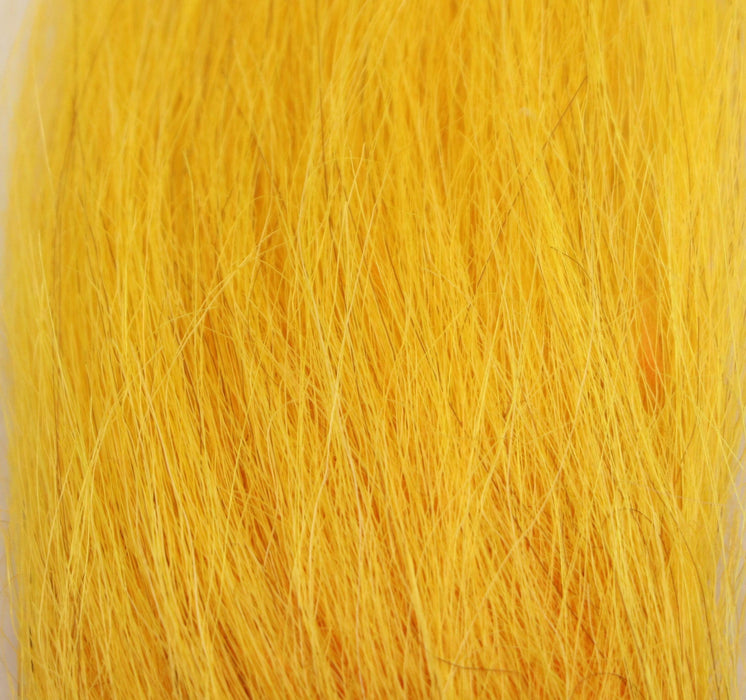 sun yellow color fly tying material