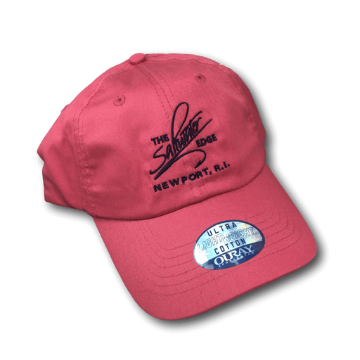 Saltwater Edge Logo Lightweight Twill Cap (Nantucket Red)