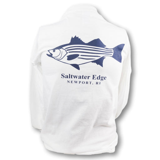 Saltwater Edge Striped Bass Long Sleeve T
