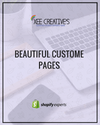 Beautiful Custom Pages