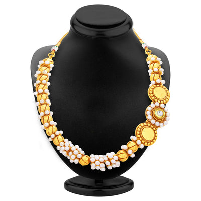 Sukkhi Designer Gold Plated Necklace Set For Women-3