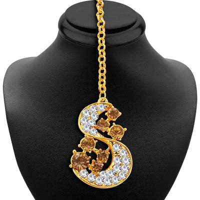 Sukkhi Splendid LCT Stone Gold Plated AD Necklace Set For Women-6