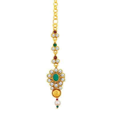 Sukkhi Magnificent Gold Plated Necklace Set For Women-6
