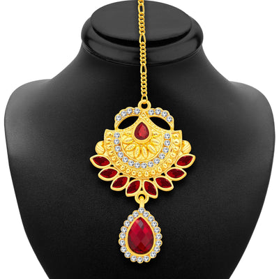 Sukkhi Elegant Gold Plated AD Necklace Set For Women-6