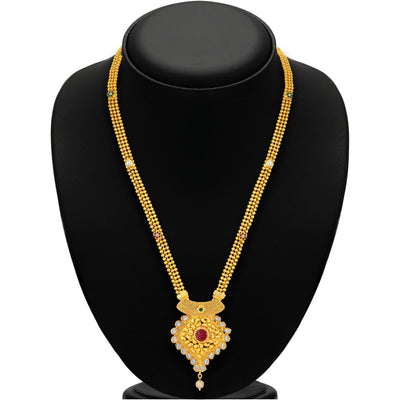 Sukkhi Youthful Gold Plated Necklace Set For Women-3