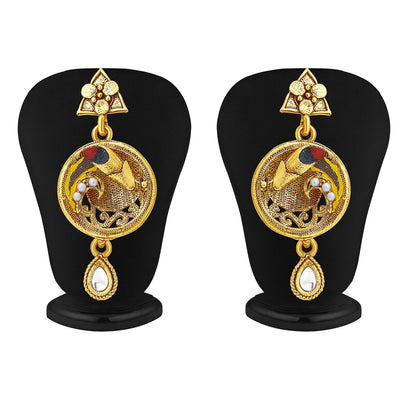 Sukkhi Marvellous Gold Plated Pendant Set For Women-4
