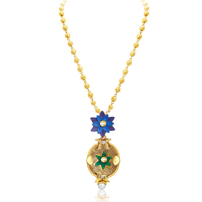 Sukkhi Ritzy Gold Plated Pendant Set For Women-3