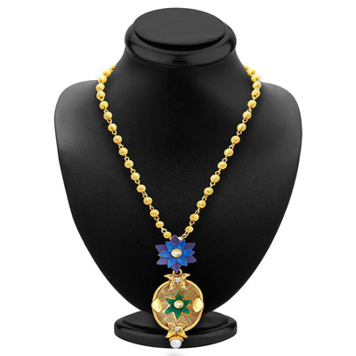 Sukkhi Ritzy Gold Plated Pendant Set For Women-2