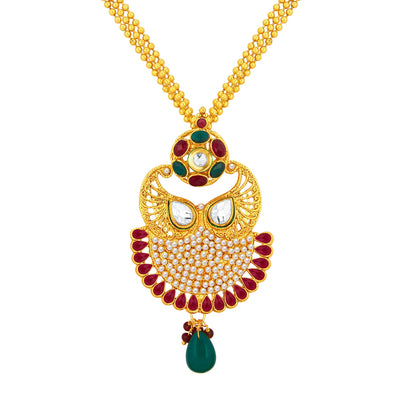 Sukkhi Exquisite Gold Plated Pendant Set For Women-2