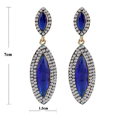 Sukkhi Classy Gold Plated AD Earring For Women-1