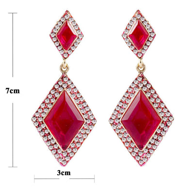 Sukkhi Intricately Crafted Gold Plated AD Earring For Women-1