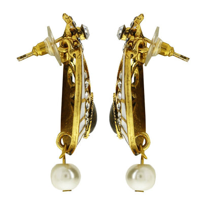 Sukkhi Delightful Gold Plated AD Earring For Women-2