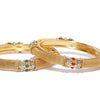 Sukkhi Lavish Gold Plated Bangle Set for Women (Set of 2)