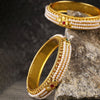 Sukkhi Alluring Gold Plated Pearl Bangle Set for Women (Set of 2)