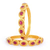 Sukkhi Traditional Gold Plated Bangles Set For Women