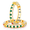 Sukkhi Fancy Square Gold Plated Bangles Set For Women