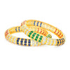 Sukkhi Glittery Gold Plated Bangle Set For Women (Set of 2)