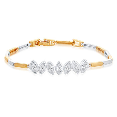 Sukkhi Stylish Rhodium Plated Bracelet for Women