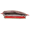 Sukkhi Must Have Red and Golden Clutch Handbag-2