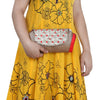 Sukkhi Must Have Red and Golden Clutch Handbag-3