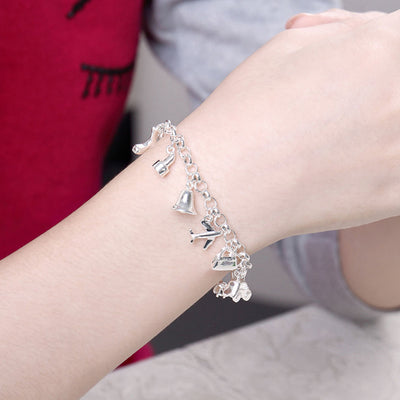 Sukkhi Trendy Rhodium Plated Bracelet Combo For Women