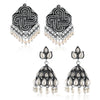 Sukkhi Ravishing Oxidised Earring Combo For Women