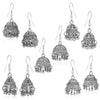 Sukkhi Glistening Oxidised Plated Jhumki Earring Combo For Women