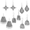 Sukkhi Fabulous Oxidised Plated Dangle Earring Combo For Women