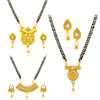 Sukkhi Incrediable Gold Plated Mangalsutra Combo For Women