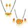 Sukkhi Attractive Gold Plated Kundan Mangalsutra Combo For Women