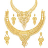 Sukkhi Attractive 24 Carat Gold Plated Choker Necklace Set Combo For Women