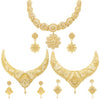 Sukkhi Marvellous 24 Carat Gold Plated Choker Necklace Set Combo For Women