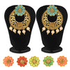 Sukkhi Glistening LCT Stone Changeable Gold Plated Earring for Women