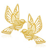 Sukkhi Sparkling Gold Plated Bird Stud Earring For Women