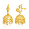 Sukkhi Glamorous Gold Plated Pearl Peacock Jhumki Earring For Women