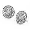 Sukkhi Trendy Oxidised Floral Stud Earring For Women