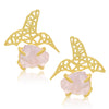 Sukkhi Astonish Gold Plated Bird Stud Earring For Women