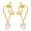 Sukkhi Classic Gold Plated Butterfly Dangle Earring For Women