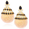Sukkhi Excellent Gold Plated Pearl Dangle Earrings For Women