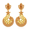 Sukkhi Designer Leafy Gold Plated Earring for Women