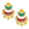 Sukkhi Appealing Kundan Gold Plated Earring for Women