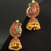 Sukkhi Bollywood Inspired Gold Plated Paisley Jhumki Earring for Women